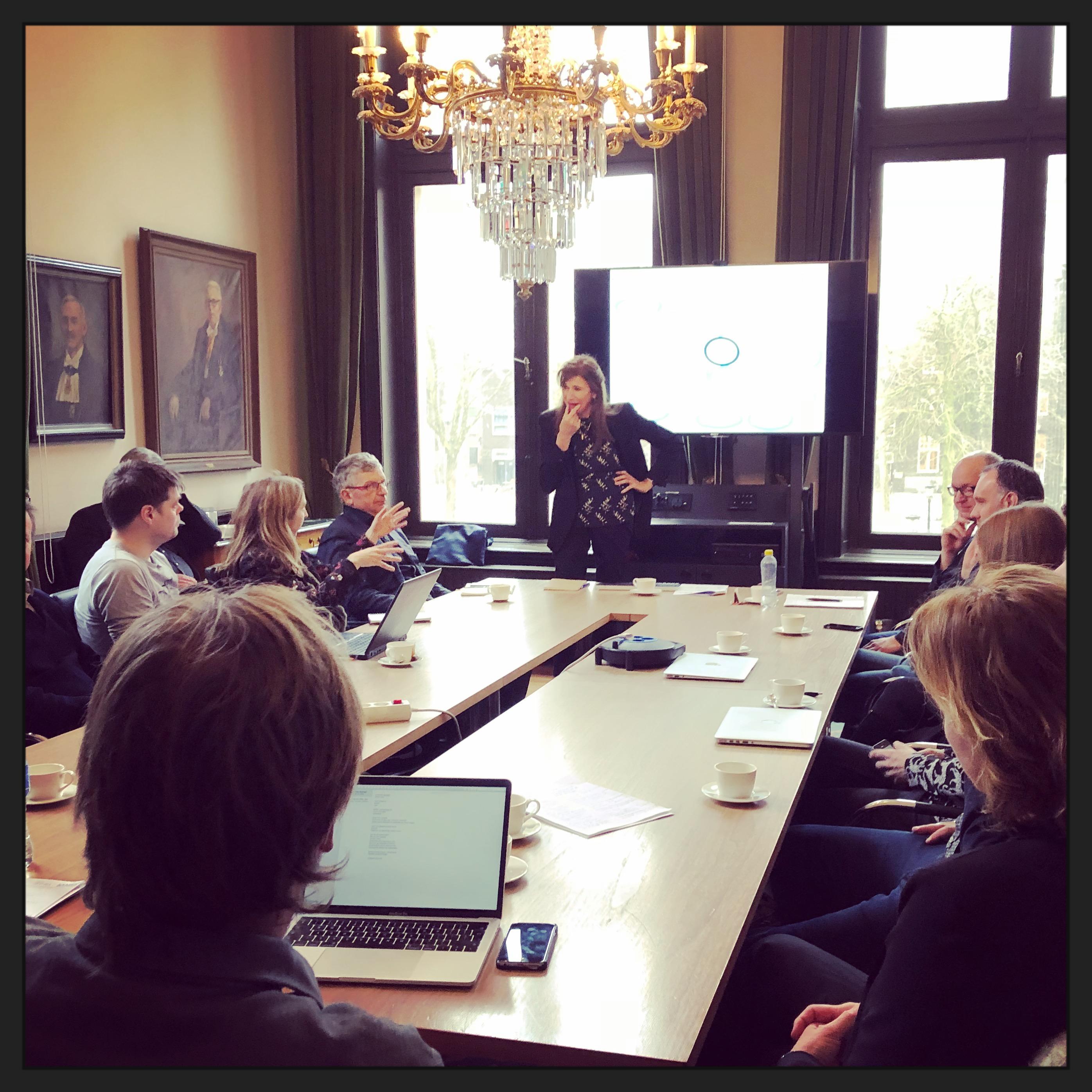 Workshop Annemieke Roobeek in Academiegebouw Utrecht